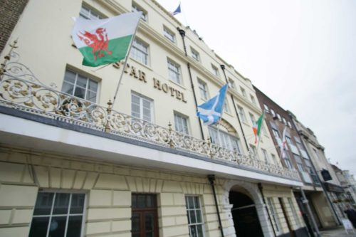 The Star hotel central Southampton Location