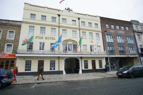 Hotel close to shops Southampton